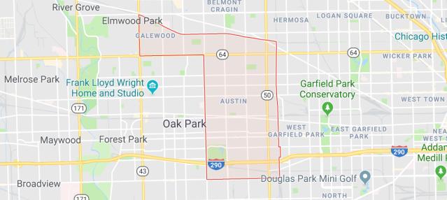 Douglas Park Chicago Map.Dementia Friendly America In The Austin Community Of Chicago